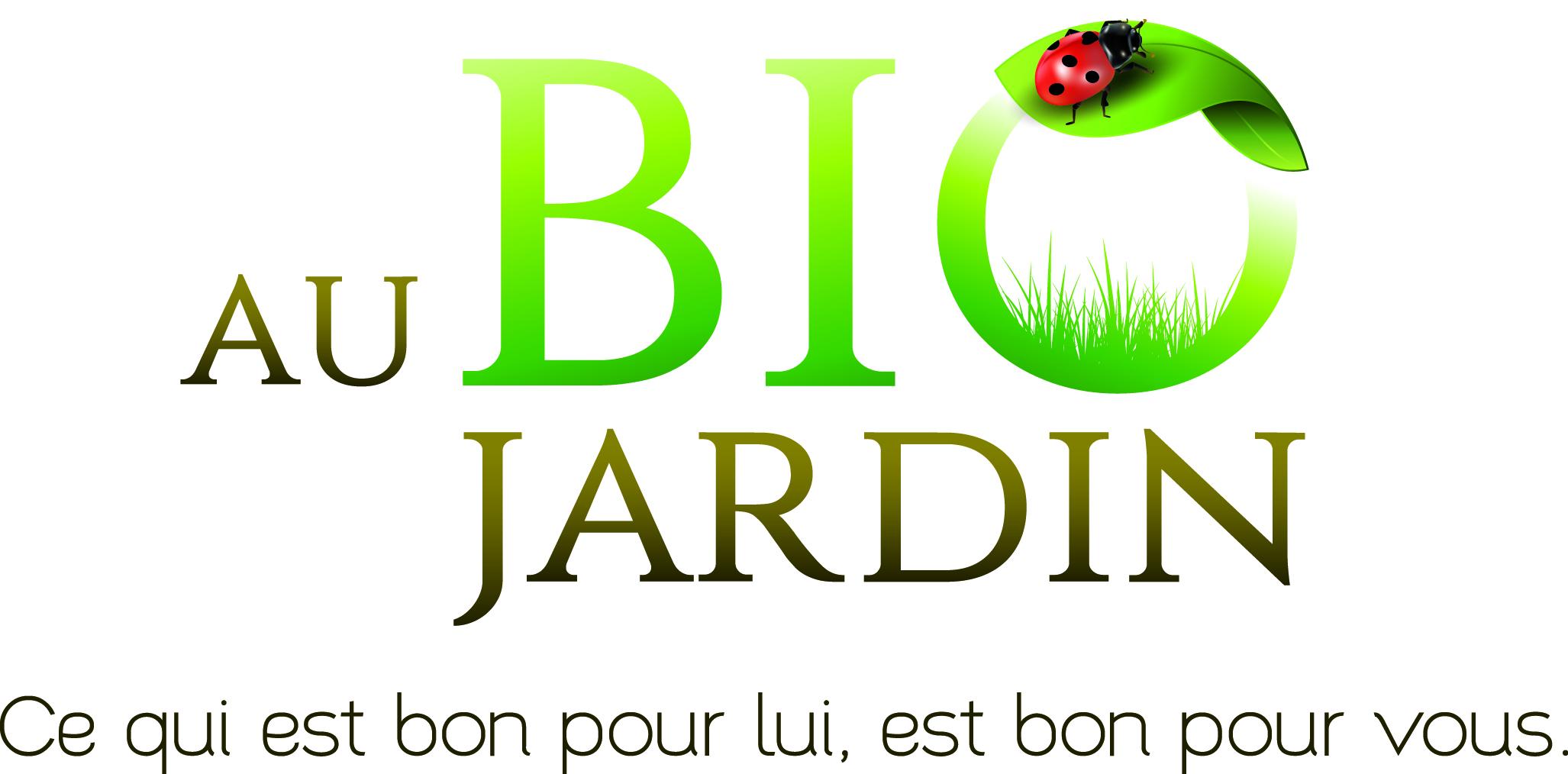 Au bio jardin vend e vous agence de communication en vend e for Jardin logo