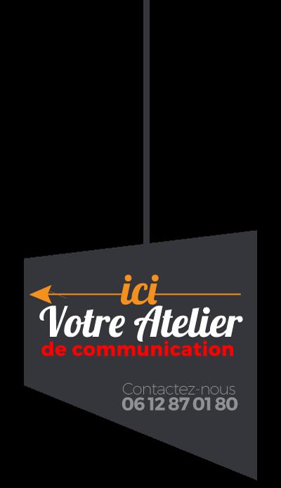 agence de communication, panneau des activités