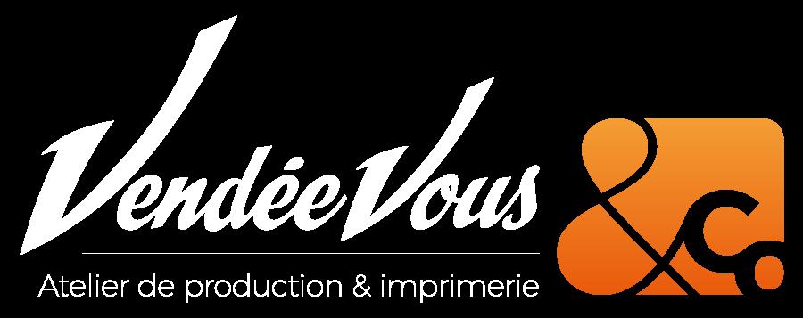 agence de communication, logo vendée vous & co, imprimerie