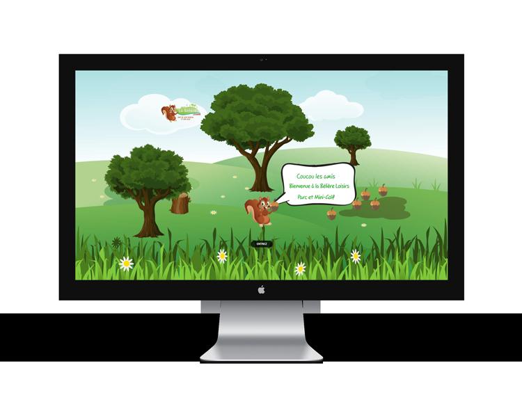 Création de site internet en Vendée pour La Bélière