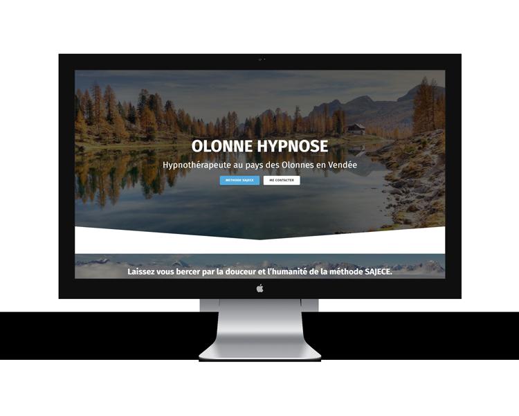 Création de site internet en Vendée pour Olonne hypnose