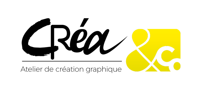 Agence de communication en Vendée, logo atelier de création graphique