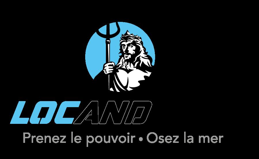 création graphique, logo de la société loc and boat